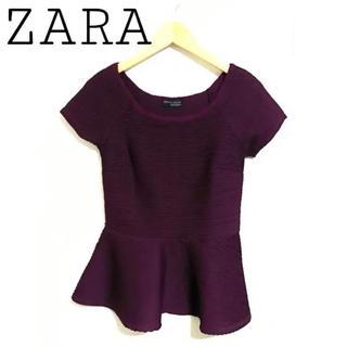 ZARA - ZARA ペプラム トップス