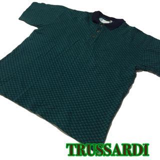 トラサルディ(Trussardi)のビッグサイズ【TRUSSARDI】総柄ポロシャツL (ポロシャツ)