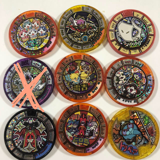 バンダイ(BANDAI)の妖怪メダル トレジャー まとめ売り(アニメ/ゲーム)