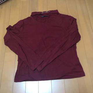 スピンズ(SPINNS)のスピンズ チョーカー風トップス(Tシャツ(長袖/七分))