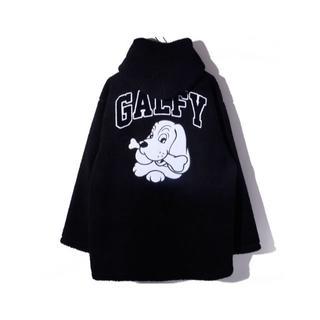 ガルフィー(GALFY)のGALFY ガルフィー ボア フードジャケット(ブルゾン)