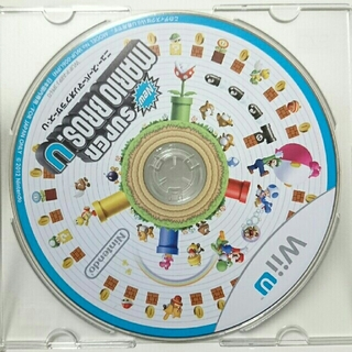 Wii U - New スーパーマリオブラザーズ U (※ディスクのみ)