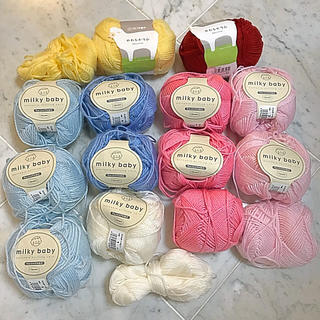 ミルキーベビー やわらかラム ベビーニット 毛糸セット