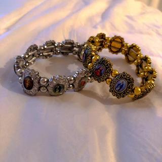 Bubbles - ♥️ Vintage Gold catholic bracelet
