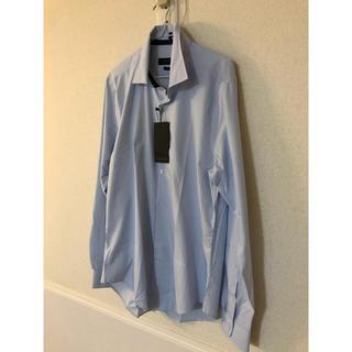 ZARA - ZARAMANザラマンザラメンワイシャツ仕事着ギンガムチェック新品タグありL