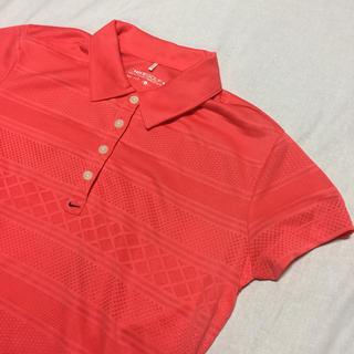 ナイキ(NIKE)のナイキ NIKE ゴルフシャツ DRI-FIT レディース サイズL(ウエア)
