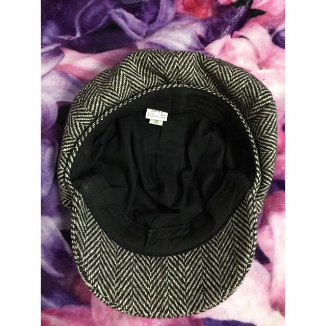 Ungrid(アングリッド)のアングリット  ♡ヘリンボーン キャスケット美品 レディースの帽子(キャスケット)の商品写真