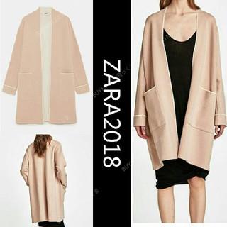 ZARA - ZARA☆春色2色☆2018SS新作パイピングコート