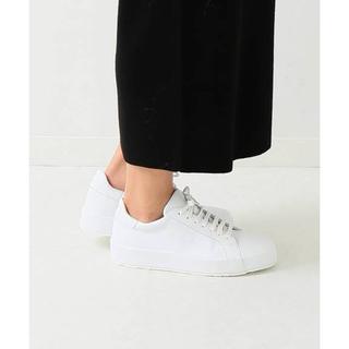 DEUXIEME CLASSE - ドゥーズィ購入 JIL SANDER Leather sneaker◆EU37