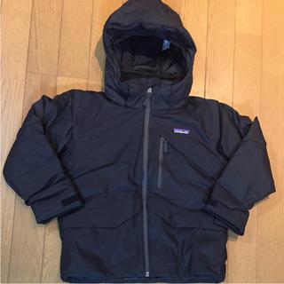 パタゴニア(patagonia)のパタゴニア XS黒110㎝〜Insulated Snowshot Jacket(ジャケット/上着)