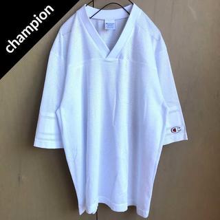 チャンピオン(Champion)のチャンピオン ワンポイントロゴフットボールシャツ(Tシャツ/カットソー(半袖/袖なし))