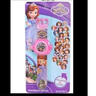 ディズニー(Disney)のちいさなプリンセスソフィア プロジェクターウォッチ 腕時計 ディズニー(腕時計)
