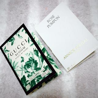 アニックグタール(Annick Goutal)の香水 パフューム サンプル GUCCI ANNICK GOUTAL(香水(女性用))