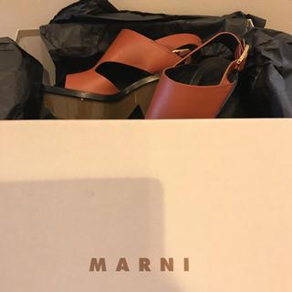 Marni - MARNI ほぼ新品 箱付き サンダル