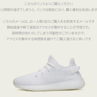 adidas - YEEZY BOOST 350 V2 triple white 27.0㎝