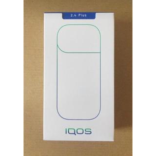 アイコス(IQOS)の【未使用品】IQOS 2.4 plus ネイビー(タバコグッズ)