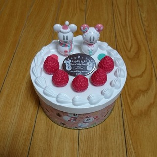 Disney - ディズニーリゾート クリスマスケーキ缶 ディズニーランド.ディズニーシー