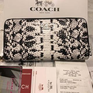 COACH - 安心の国内発送❣️COACH コーチ 長財布 送料無料 ✨即購入◎