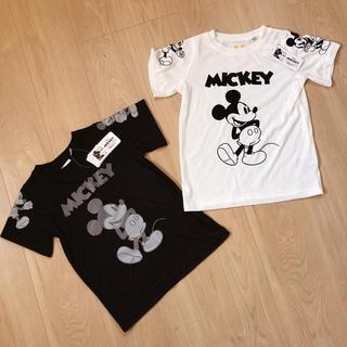 ディズニー(Disney)の【新品・タグ付】サイズ100*ディズニー ミッキー Tシャツ 2枚セット(Tシャツ/カットソー)