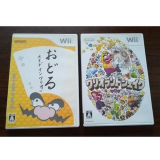 ウィー(Wii)のWii ワリオシリーズセット(家庭用ゲームソフト)
