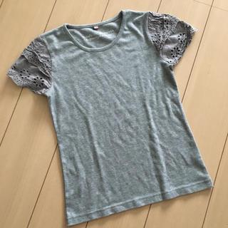 シマムラ(しまむら)のしまむら★肩フリル★Tシャツ(Tシャツ(半袖/袖なし))