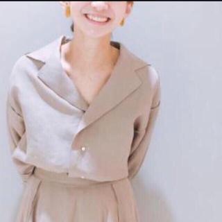 マディソンブルー(MADISONBLUE)の定価¥44.000-マディソンブルービッグカラーオープンシャツ(シャツ/ブラウス(長袖/七分))