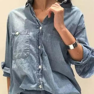 DEUXIEME CLASSE - ドゥーズィエムクラス ダンガリーシャツ