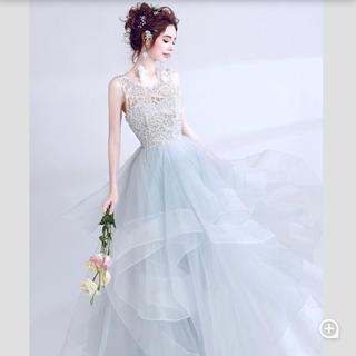 ウエディングドレス カラードレス