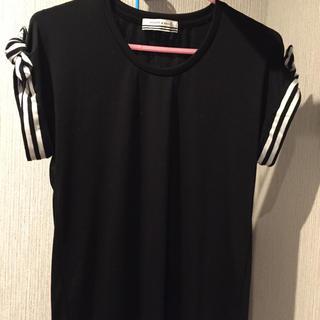 バーニーズニューヨーク(BARNEYS NEW YORK)のヤマト着払いのみ! ボーダーズアットバルコニー Tシャツ size36 (Tシャツ(半袖/袖なし))