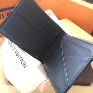 LOUIS VUITTON - 正規品ルイヴィトンダミエコバルト ポルトフォイユ・ミュルティプル札入れカード入れ