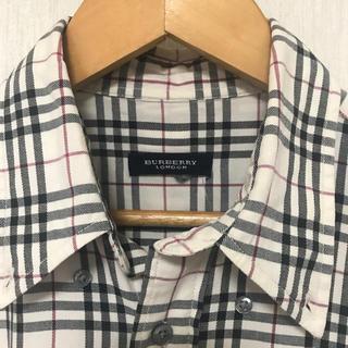 BURBERRY - BURBERRY London チェックシャツ