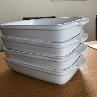 アクタス(ACTUS)のグラタン皿 耐熱皿 ポルトガル製 20cm×14cm ACTUS アクタス 4枚(食器)