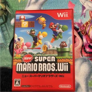 ウィー(Wii)のWii スーパーマリオ(家庭用ゲームソフト)