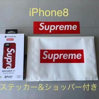 シュプリーム(Supreme)の即支払い限定 iPhone 8 Plus Supreme Mophie(バッテリー/充電器)