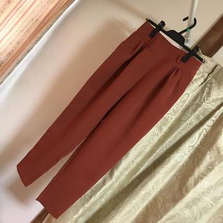 Lily Brown - ♡リリーブラウン♡テーパードパンツ♡ブラウン♡茶色♡