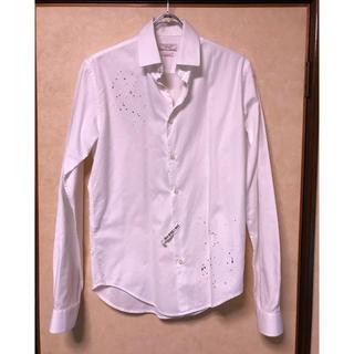 ザラ(ZARA)の■ZARA デザインシャツ スリムフィット(シャツ)