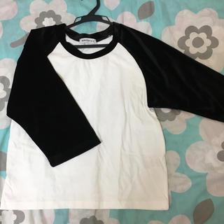 WEGO - WEGO ★ ベロア5部袖Tシャツ