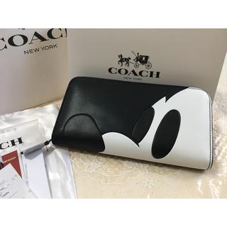 COACH - プレゼントにお勧め❣️COACH  コーチ 長財布 アウトレット正規品 箱付き