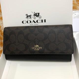 COACH - 【人気】コーチ 長財布 COACH 即購入可❣️箱付き 未使用新品