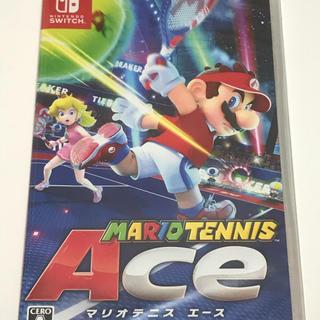 ニンテンドースイッチ(Nintendo Switch)のマリオテニス エース 新品未開封(家庭用ゲームソフト)