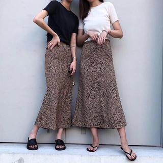 TODAYFUL - レオパードスカート