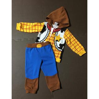 ディズニー(Disney)のトイストーリー ウッディ コスプレ キッズ ハロウィン(衣装一式)
