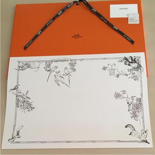 エルメス(Hermes)のエルメス ランチョンマット 正規品鳥デッサン柄(テーブル用品)