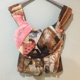 Vivienne Westwood - 【新品タグ付き】サロン柄 リバティ コルセットトップ