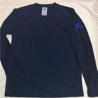 アディダス(adidas)の新品未使用  アディダス 長袖シャツ  Mサイズ(Tシャツ/カットソー(半袖/袖なし))