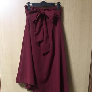 REDYAZEL - ☆美品 送料込み☆ レディアゼルロングフレアスカート ワインレッド