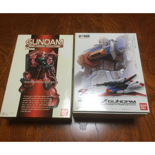 バンダイ(BANDAI)のBANDAℹ︎ 完全変形 Zガンダム & シャアコレクション(アニメ/ゲーム)