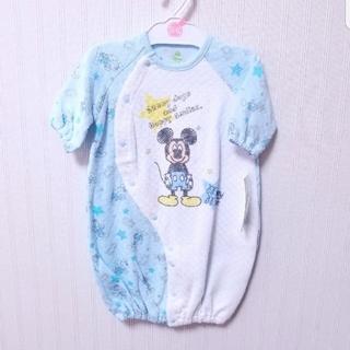 ディズニー(Disney)のディズニー♥50~60㎝ 新生児アウタードレス(ロンパース)