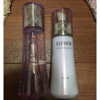 KOSE - ルシェリ 化粧水、乳液セット