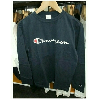 チャンピオン(Champion)のchampion ロゴ入り ロングTシャツ(Tシャツ/カットソー(七分/長袖))